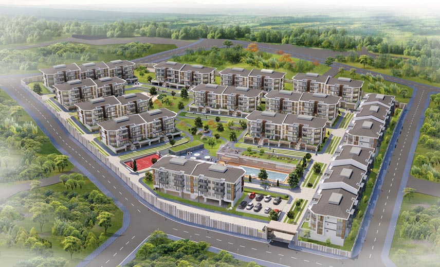Yalova living city Housing