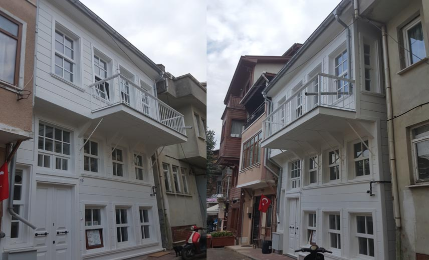 Büyükada Timber Housing
